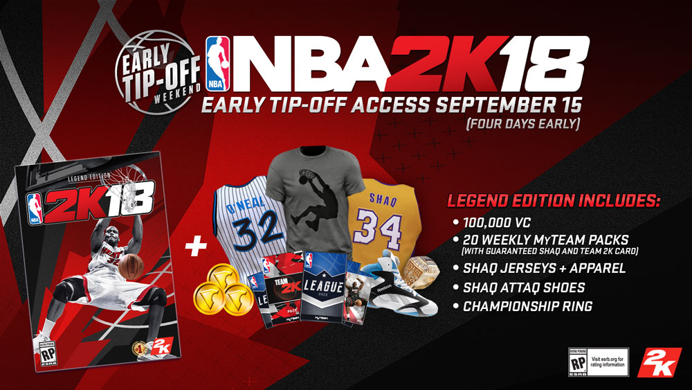 NBA 2K18 Preorder Guide