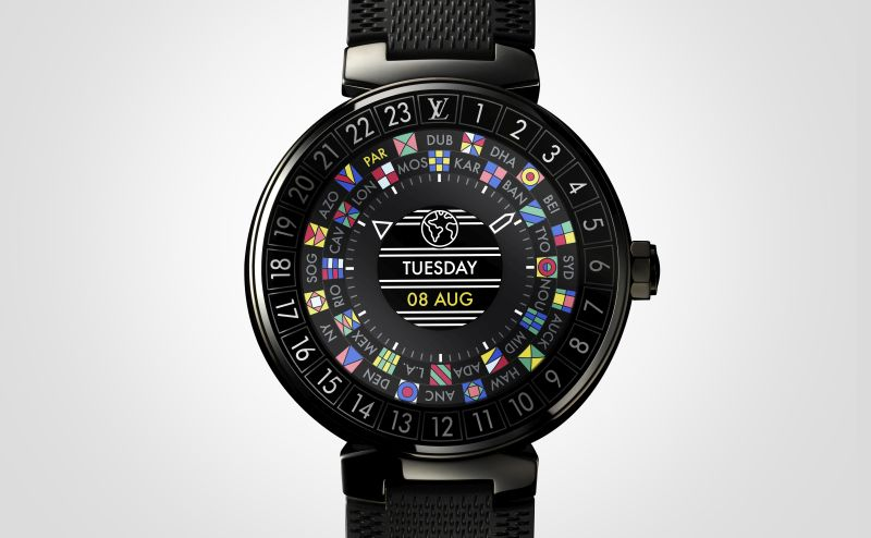 Featuring tech from Silicon Valley, Tambour Horizon is Louis Vuitton's first Smartwatch