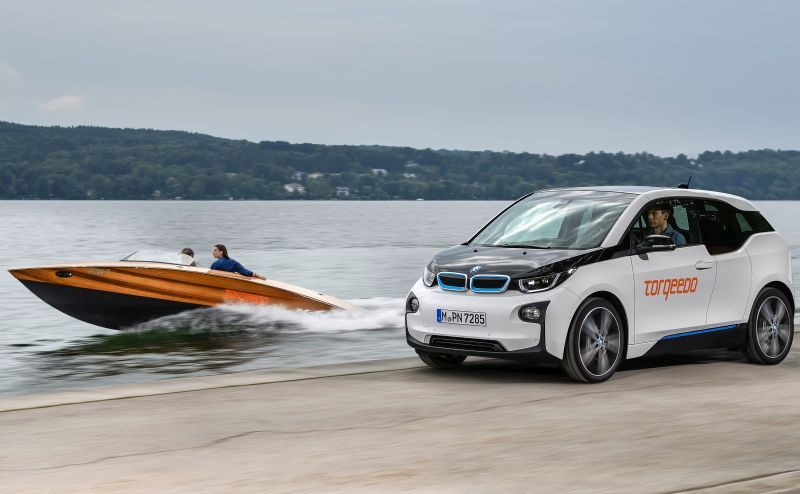 Eco-friendly BMW i technology is now being used to power boats