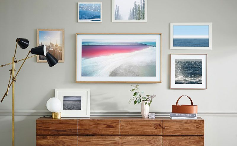Samsung's The Frame is a 4K TV designed to look just like a photo frame