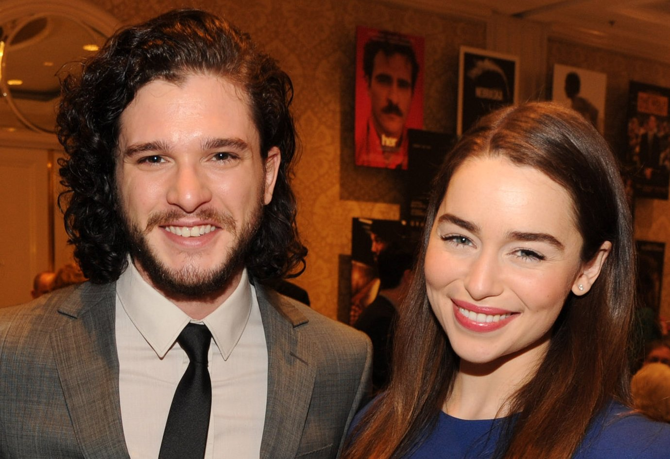 How Emilia Clarke Really Felt About Shooting That Game of Thrones Scene With Kit Harington