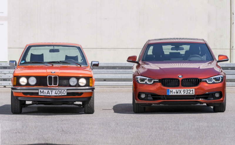 1975 BMW 3 Series Meets its Modern Day successor in Munich