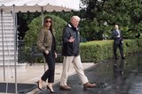 Melania Trump's Hurricane Harvey Heels Are Far From Sensible - and the Internet Took Notice