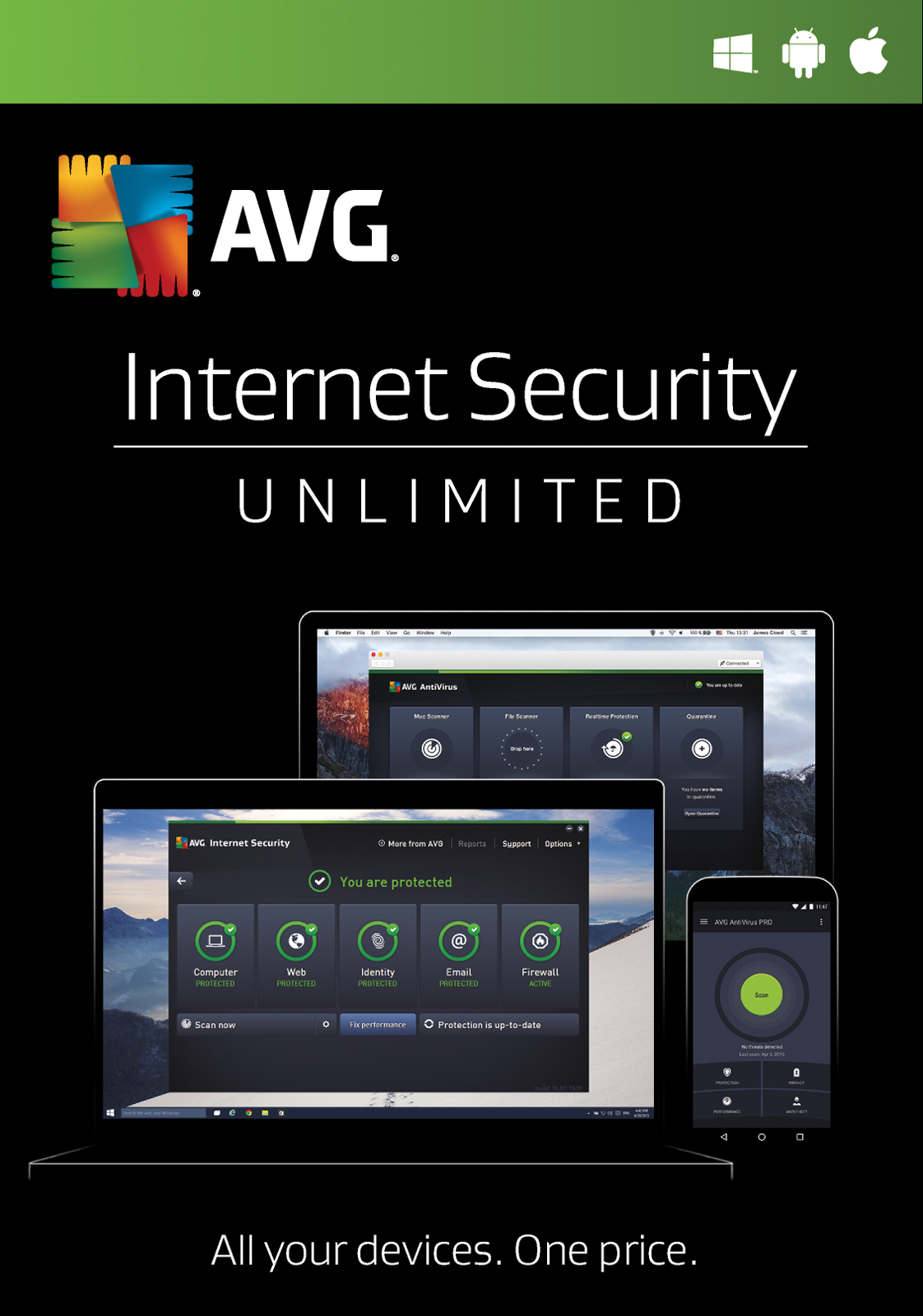 UK Daily Deals: AVG Internet Security - Save £20% for a Limited Time Only