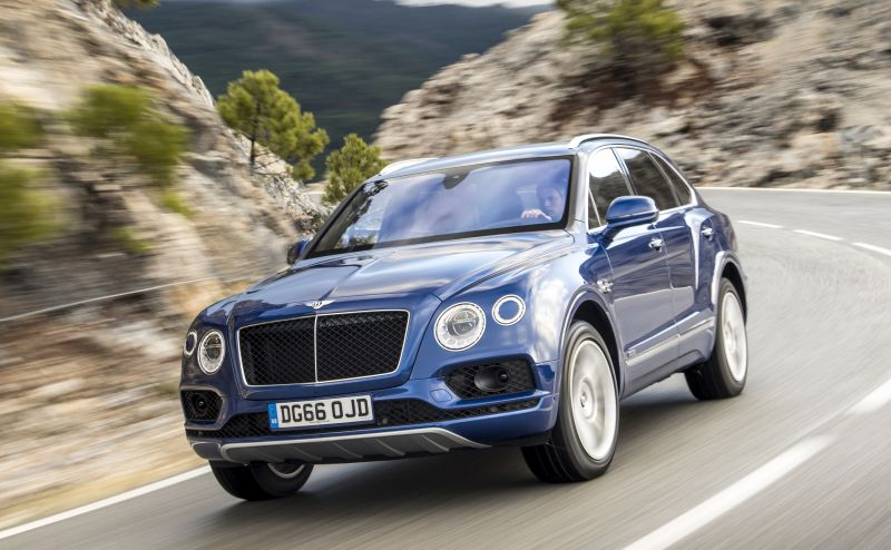 Bentley Bentayga Diesel Receives the Star Award at the 2017 Autocar Awards