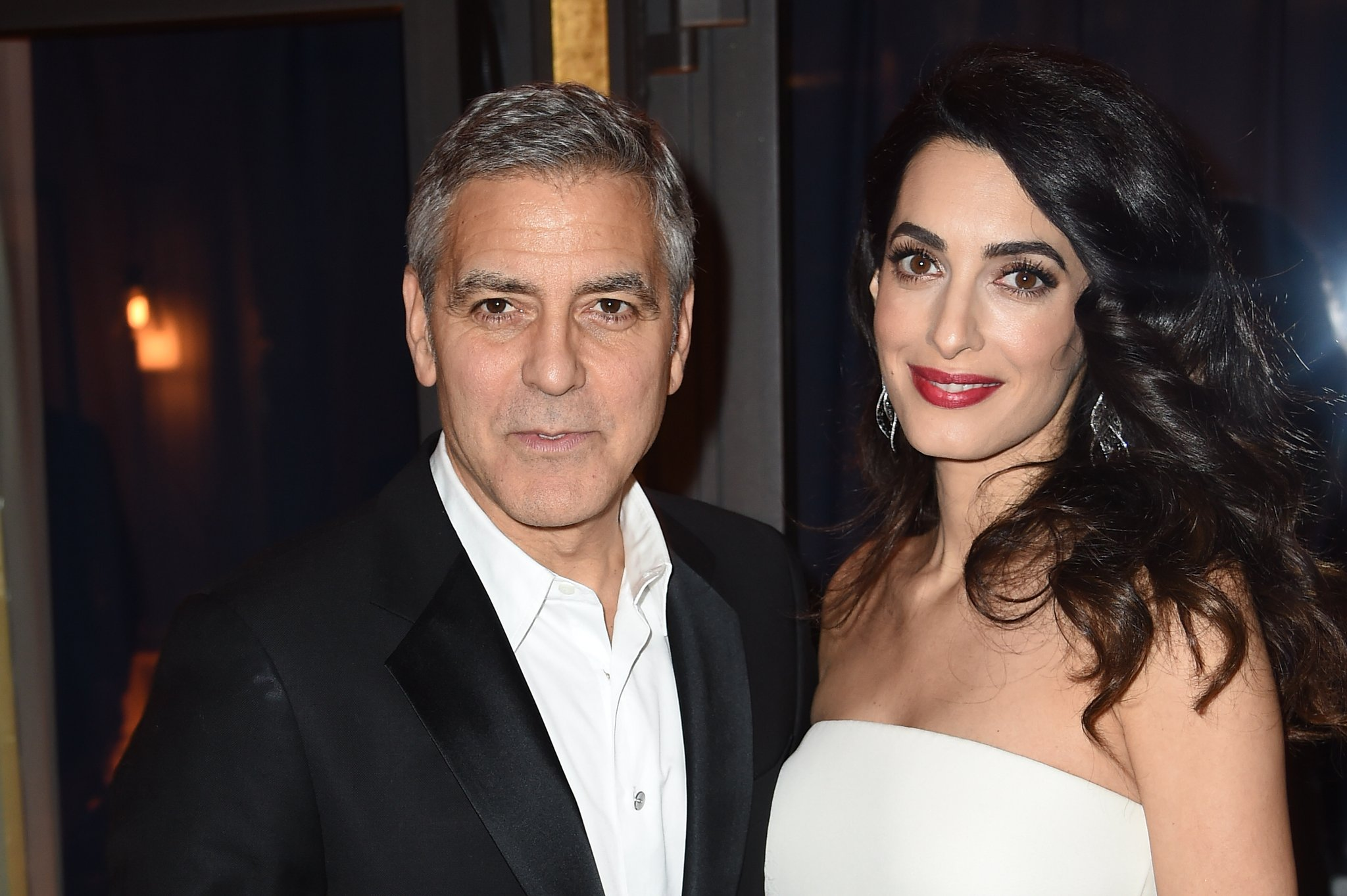 "George and Amal Have Taken In a Refugee From Iraq: ""He Survived and Came to America"""